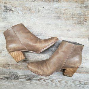 Crown Vintage Shoes - Crown Vintage Sandy Booties Block Heel Ankle Boots